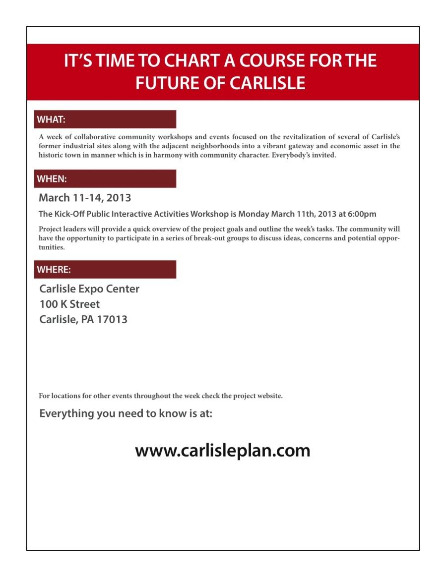 2013.03 Carlisle Urban Redev1. Press Flyer