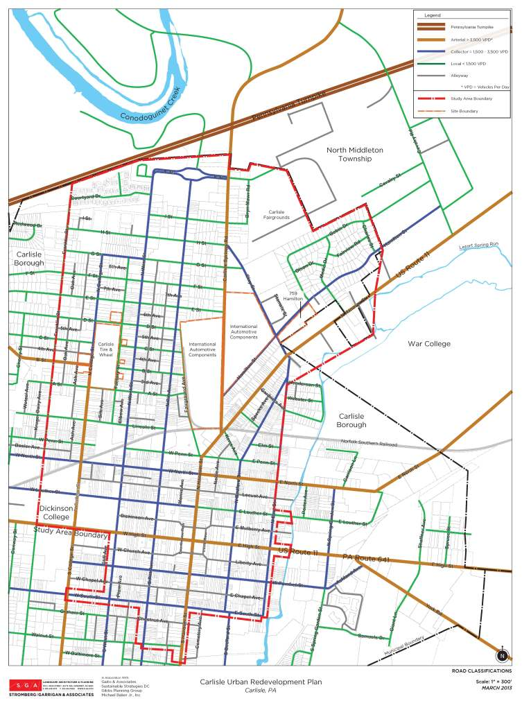 Road classification Map