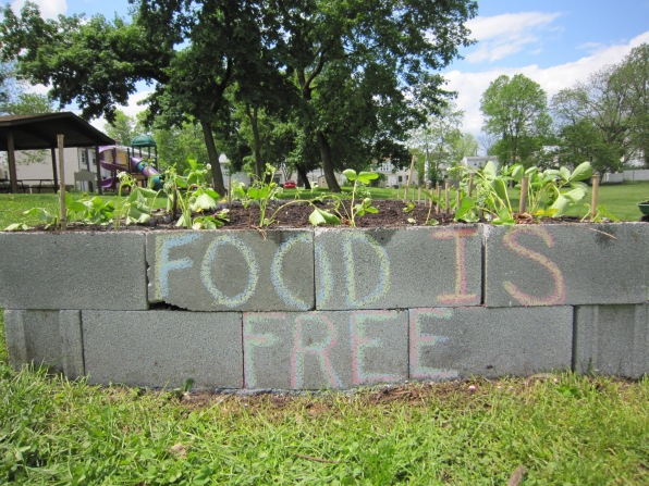 Food is Free for everyone.